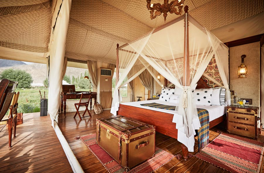 Thiksey-white-tent-interior