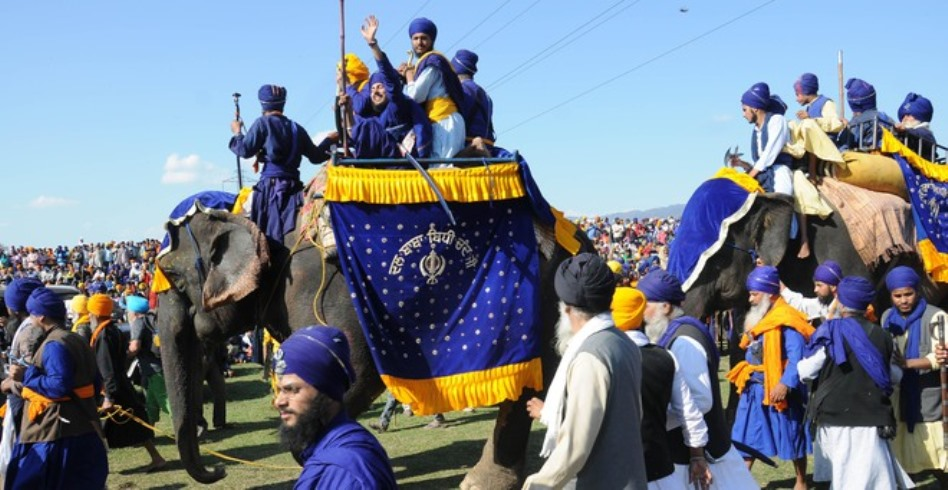 Holla Mohalla celebrate at Anandpur Sahib