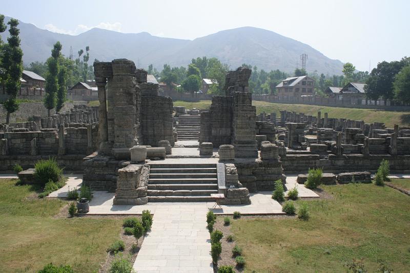 Avantipur ruins pahalgam