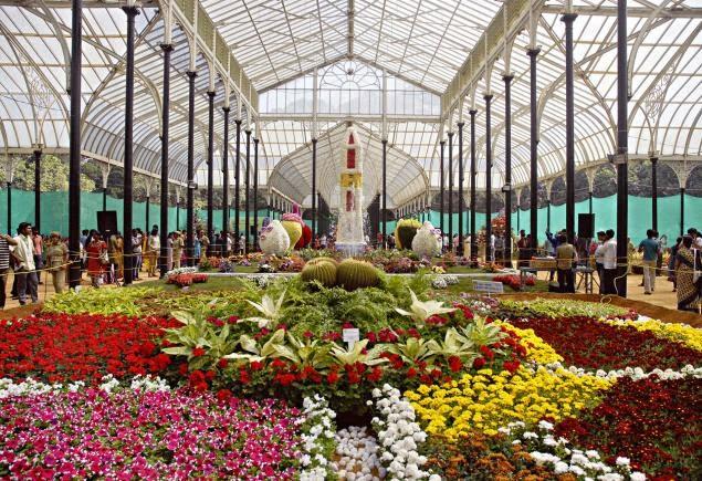 Bangalore's botanical gardens