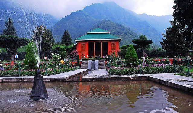 Chasme Shahi Garden Srinagar