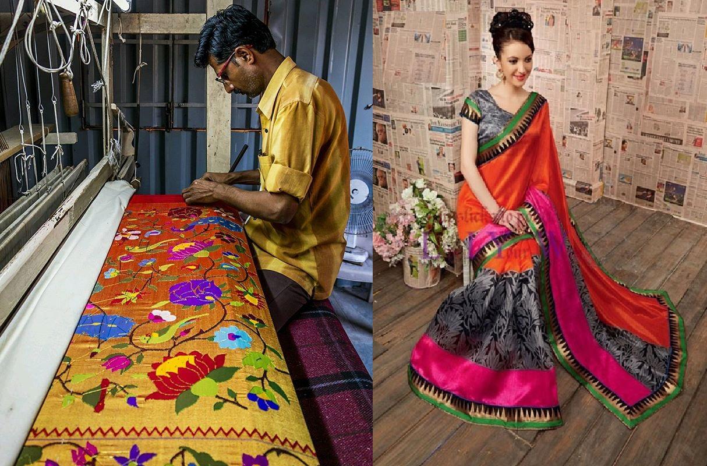 Paithan silk sarees of Aurangabad