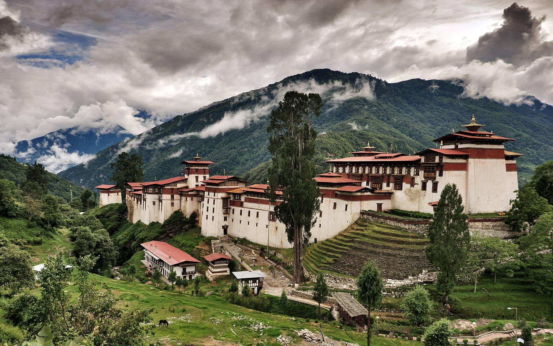 Trongsa Dzong BUMTHANG