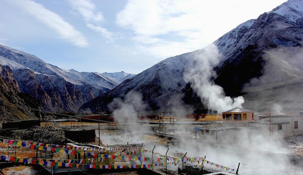 chumathang hot spring