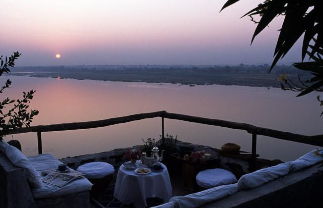 riverside hotel in Maheshwar