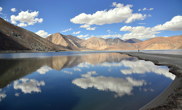 tsokar lake in ladakh