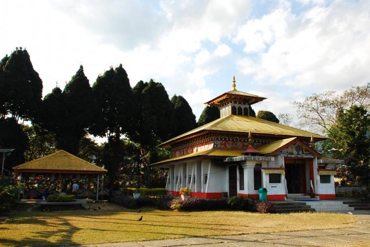 The Buddhist Gompa of Itanagar
